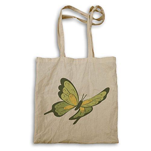 Schmetterling Design Natur Tragetasche p147r