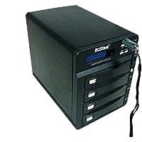 Buslink CipherShield CSE-8TSSDB4SU3 8TB 4 bay RAID FIPS 140-2 256-bit AES USB 3.0/eSATA Hardware Encrypted External Desktop SSD Drive