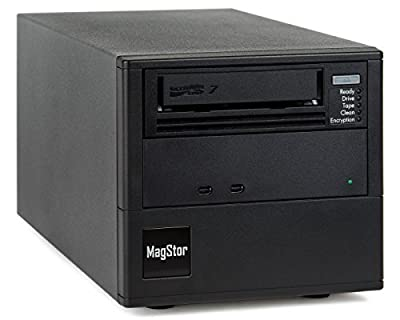 MagStor TRB-HL7 Desktop LTO7 6TB LTFS Tape Drive with ThunderPro2 Interface (connect to any MAC computer with a Thunderbolt 2 port) from hp
