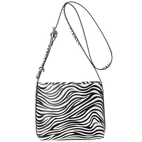 Small Crossbody Cellphone Shoulder Bag Haytijoe Roomy Zipper Pocket Purses and Handbags for Women(Zebra Print)