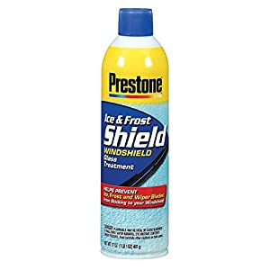 Prestone AS276-6PK Ice and Frost Shield Vehicle Glass Treatment - 17 oz., (Pack of 6)