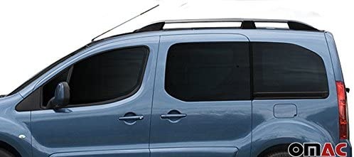Amazon.es: Techo Reling aluminio gris para Citroen Berlingo/Partner Tepee a partir de 2008 con TUV ABE