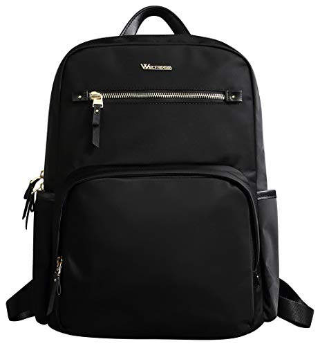 - Wolfrealm Business Backpack Laptop Backpack for Women Fashion Ladies Notebook Bag fit 14