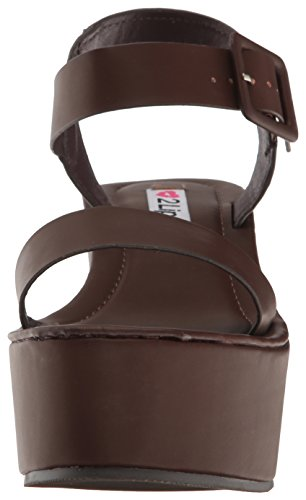 Sacha Sandal Lips 2 Too Women's Dress Brown RtSCwqCx