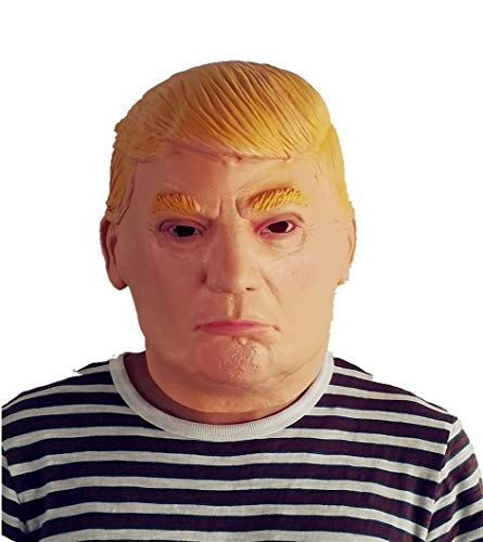 BBBL Donald Trump Mask - Real Human Celebrity Face Latex Mask -