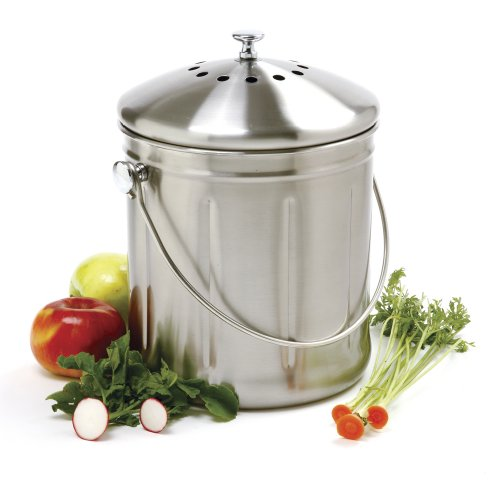 Norpro Gallon Stainless Compost Keeper