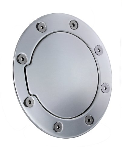All Sales 6050P Polished Billet Aluminum Fuel Door 05 Ford Expedition Billet