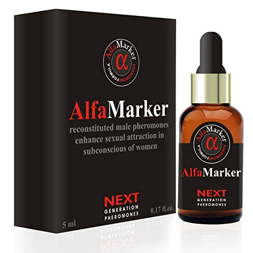Pheromones to Attract Women Alfamarker Men s Pheromone Highly Concentrated Human Pheromone Formula Sexy Fragrant Oil Perfume for Men 5 ml AlfaMarker