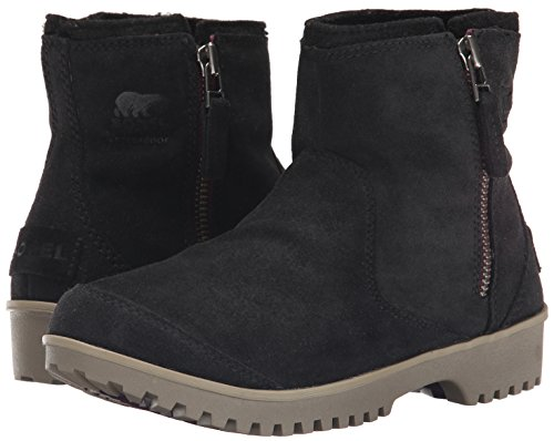 Sorel Women's Black Boots Chukka Meadow Zip 4zOqv