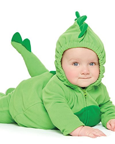 Carter's Baby Halloween Costume Many Styles (3-6m, Green Dinosaur)