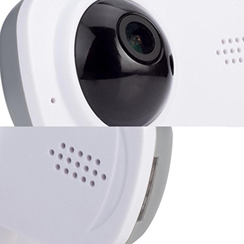 Wireless WiFi Camera 720P Insert Card Camera IR Night Vison Two Way Audio Motion Detection Remote Monitor Home Security Webcam by UEB (Image #8)