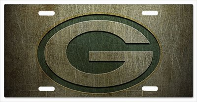 Green Bay Packers - The Run v01 Vanity License - Bay Custom Packers Green Room