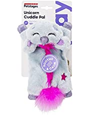 Petstages Unicorn Cuddle Pal Calming & Soothing Cat Toy