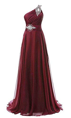 Chiffon Silk Prom Dress - 1