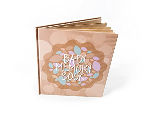 Personalized Scrapbook Albums (Baby Memory Book And Keepsake For Baby's First Year - A Scrapbook / Photo Album / Journal For Both Boy And)