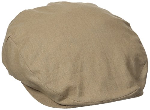 Stetson Men's Linen Ivy Cap, Khaki Medium