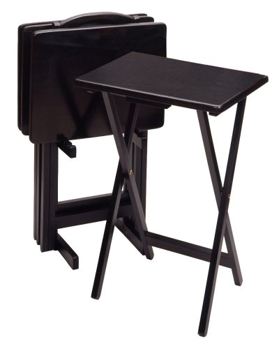 black tray table - 1