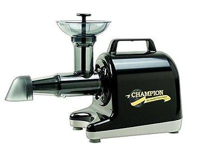 - Champion Household Juicer 4000 Masticating Juicer (Black)