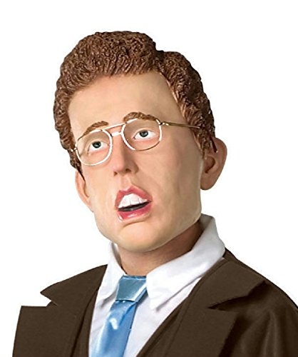 Napoleon Dynamite Costume Women (Adult Napoleon Dynamite Mask with Glasses)