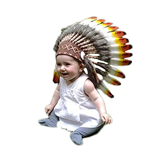 For 9 (Halloween Costumes Indian Headdress)