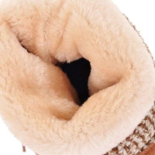 Basse Basse Basse Donna RAZAMAZA Giallo Eleganti Eleganti Eleganti Stivali Slouch Scarpe Autunnali 88v4wq