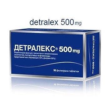 DETRALEX 500 mg - 90 tabletas - Hemorroides, Venas varicosas ...