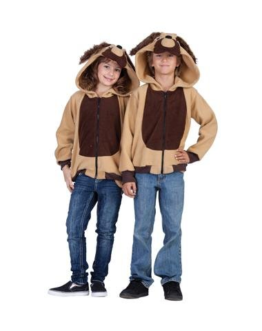 [RG Costumes 'Funsies' Devin The Dog Hoodie, Child Large/Size 12-14] (Dog Girl Costumes)