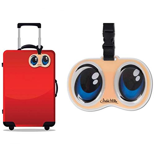 Accoutrements Anime Eyes Luggage Tag