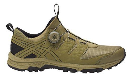 Asics Gel-Fujirado, Zapatillas de Entrenamiento para Hombre Multicolor (Martini Olive/aloe/black)