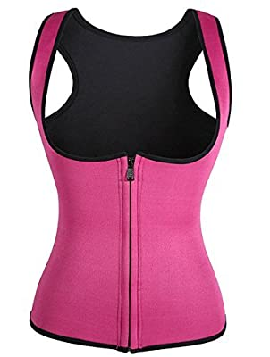 Waist Trainer Neoprene,BRABIC Thermo Corset Promotes Sweating During Exercise