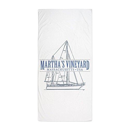 (CafePress Martha's Vineyard - Large Beach Towel, Soft 30