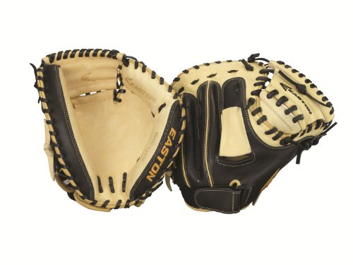 Easton NATY2000 Natural Youth Series Catcher's Mitt, 32-Inch, Right Hand Throw - American Pro Series Glove