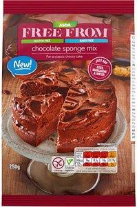 Amazoncom Asda Free From Chocolate Sponge Mix 250g