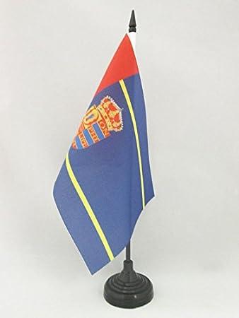 AZ FLAG Bandera de Mesa de MOSTOLES 21x14cm - BANDERINA de ...
