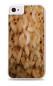 Mac and Cheese White Silicone Case for iPhone 5C