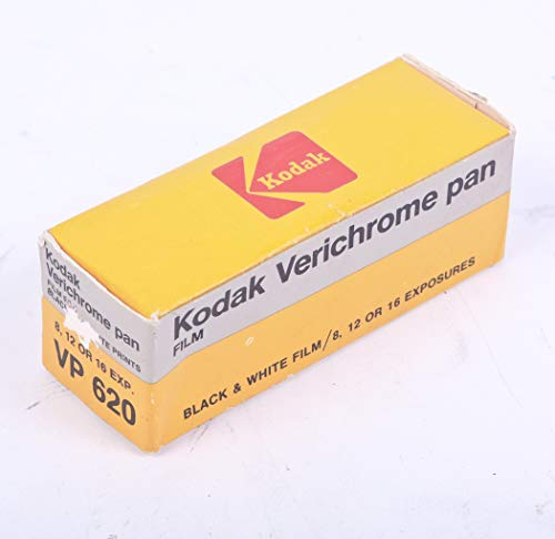 VERICHROME PAN VP 127 Black & White Film 8-12 Exposure 1982