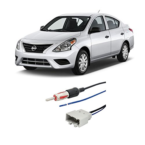Fits Nissan Versa 2007-2016 Factory Stereo to Aftermarket Radio Antenna Adapter