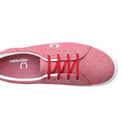 Fred Perry Zapatillas AUBYN chanbray deep red 37