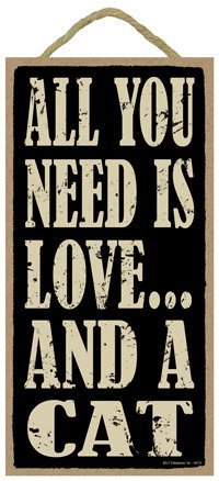 SJT94113 Need Love wood plaque product image