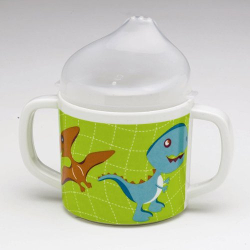 Sugarbooger Sippy Cup, Prehistoric Pals (Sugar Booger Divided Suction Plate)