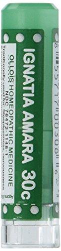 Ollois Lactose Free Homeopathic Medicines, Ignatia Amara 30C Pellets, 80 Count