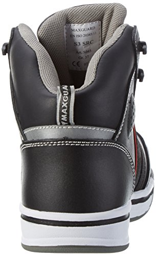 Maxguard Shogun S045, Unisex Adults' Safety Shoes and Cap Black
