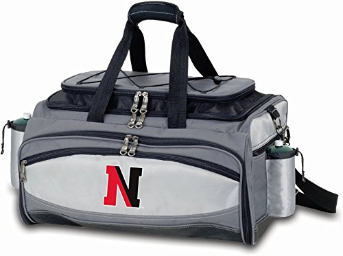 (PICNIC TIME NCAA Northeastern Huskies Embroidered Vulcan Set, One Size, Black)