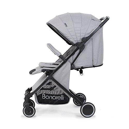 Bonarelli 202 Silla de paseo color gris claro