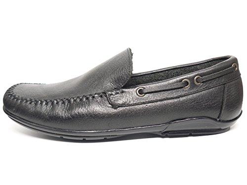 Piel En Casual Mocasin Color Hombre 935 Tipo Zapato 4 Negro Deltell BwYnUZqUp