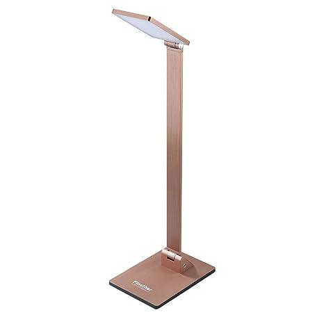 Finether-Lámpara de Escritorio Flexo LED Lámpara de Mesa Táctil Ajustable, para Estudio, Oficina, Dormitorio, 10W [Clase de eficiencia energética A]