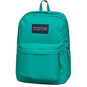 JanSport Superbreak Backpack- Discontinued Colors (Spanish Teal)