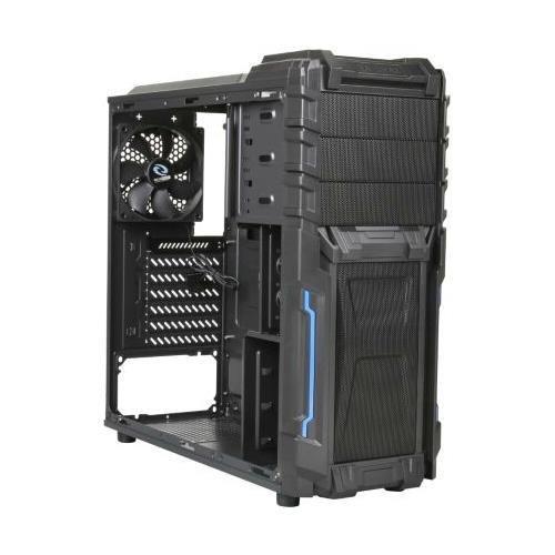 Raidmax Vortex ATX-402WB No Power Supply ATX Mid Tower Gaming Case (Black)