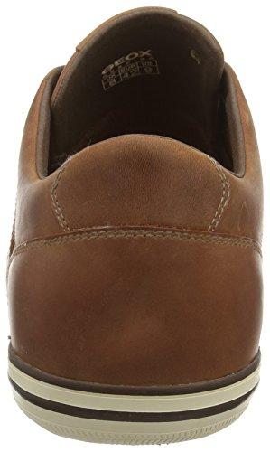 Geox U Box D, Scarpe da Ginnastica Basse Uomo Marrone (Brown Cotto C6003)