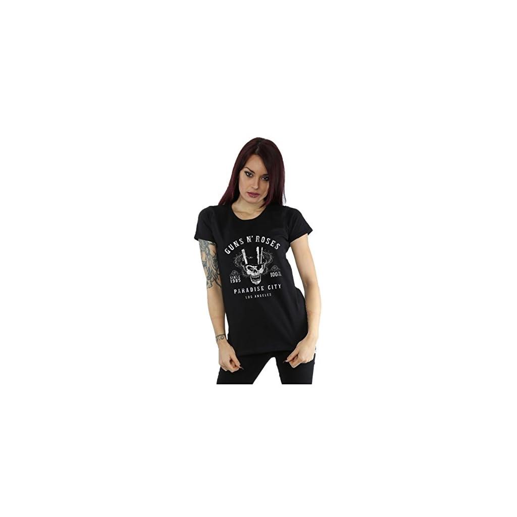 Guns N Roses Whiskey Label Camiseta Mujer